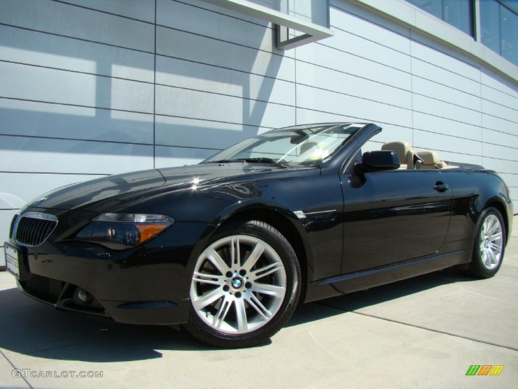 2007 Black Sapphire Metallic BMW 6 Series 650i Convertible