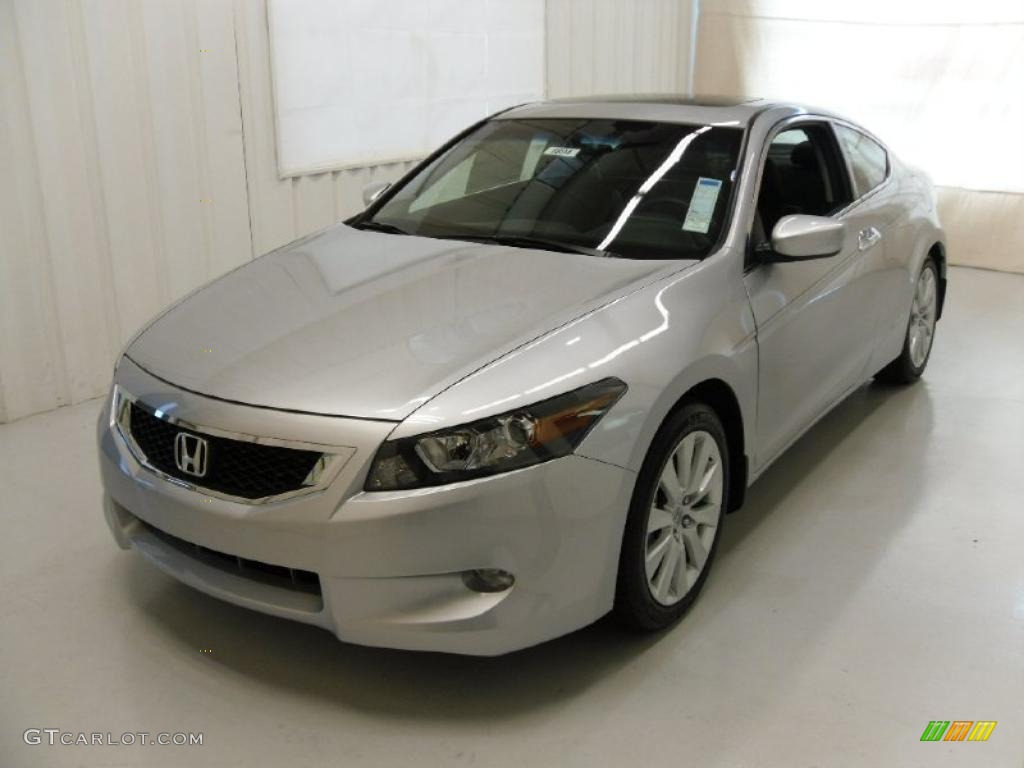 2010 alabaster silver metallic honda accord ex l v6 coupe. Black Bedroom Furniture Sets. Home Design Ideas