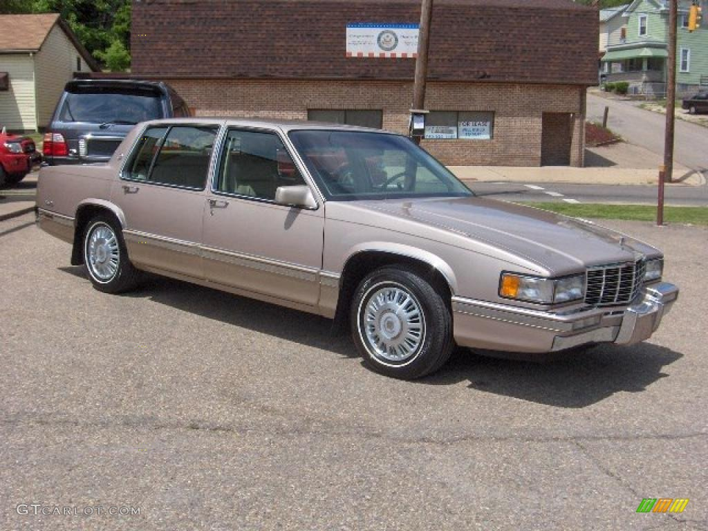 1992 light antelope metallic cadillac deville sedan. Cars Review. Best American Auto & Cars Review