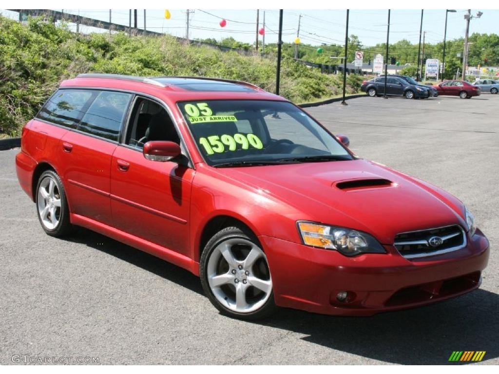 2005 garnet red pearl subaru legacy 2 5 gt limited wagon 30036013 photo 3 car. Black Bedroom Furniture Sets. Home Design Ideas