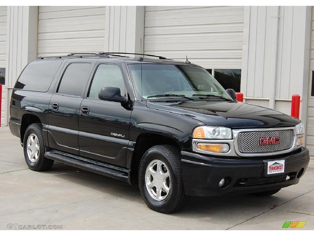 2005 onyx black gmc yukon xl denali awd 30036161 car color galleries. Black Bedroom Furniture Sets. Home Design Ideas