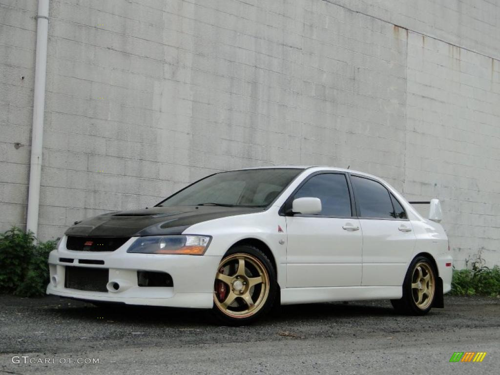 2005 wicked white mitsubishi lancer evolution mr 30036318. Black Bedroom Furniture Sets. Home Design Ideas