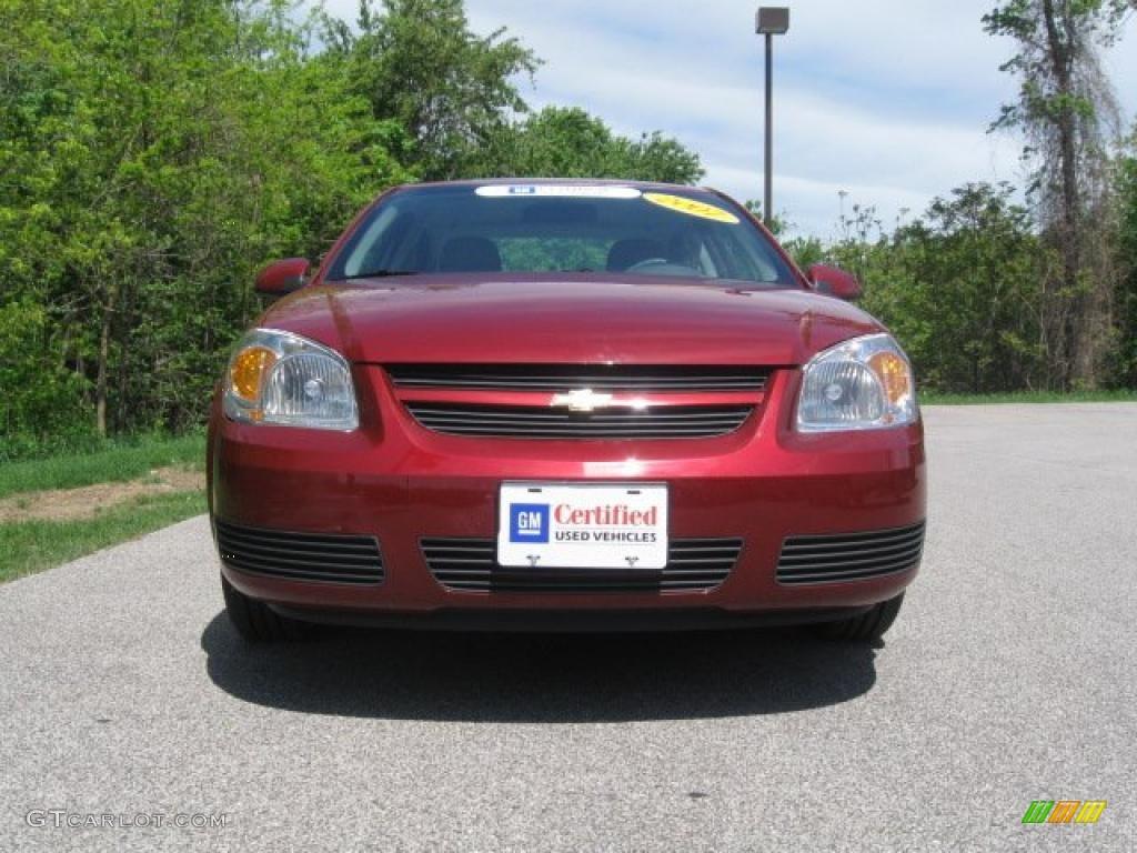 2007 Cobalt LT Sedan - Victory Red / Gray photo #2
