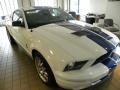 2007 Performance White Ford Mustang Shelby GT500 Coupe  photo #1