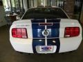 2007 Performance White Ford Mustang Shelby GT500 Coupe  photo #11