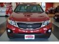 2011 Spicy Red Kia Sorento LX  photo #11