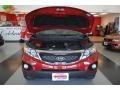 2011 Spicy Red Kia Sorento LX  photo #24