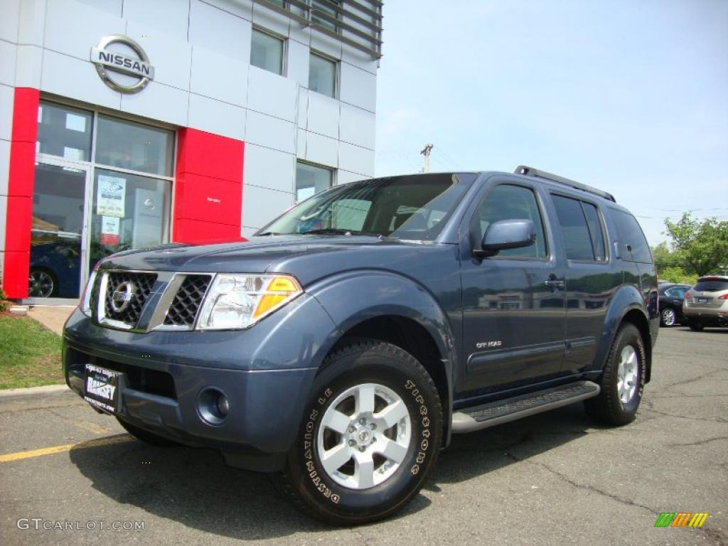 2005 silverton blue pearl nissan pathfinder se off road 4x4 silverton blue pearl nissan pathfinder vanachro Gallery