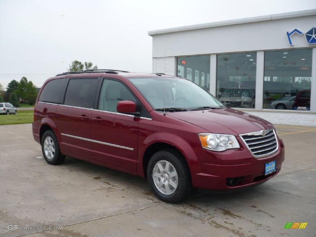 2010 deep crimson crystal pearl chrysler town country touring 30037352 car. Black Bedroom Furniture Sets. Home Design Ideas