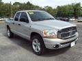2006 Bright Silver Metallic Dodge Ram 1500 SLT Quad Cab  photo #10