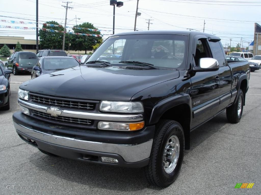 2000 chevrolet silverado 2500 ls extended cab 4x4 onyx black color. Cars Review. Best American Auto & Cars Review