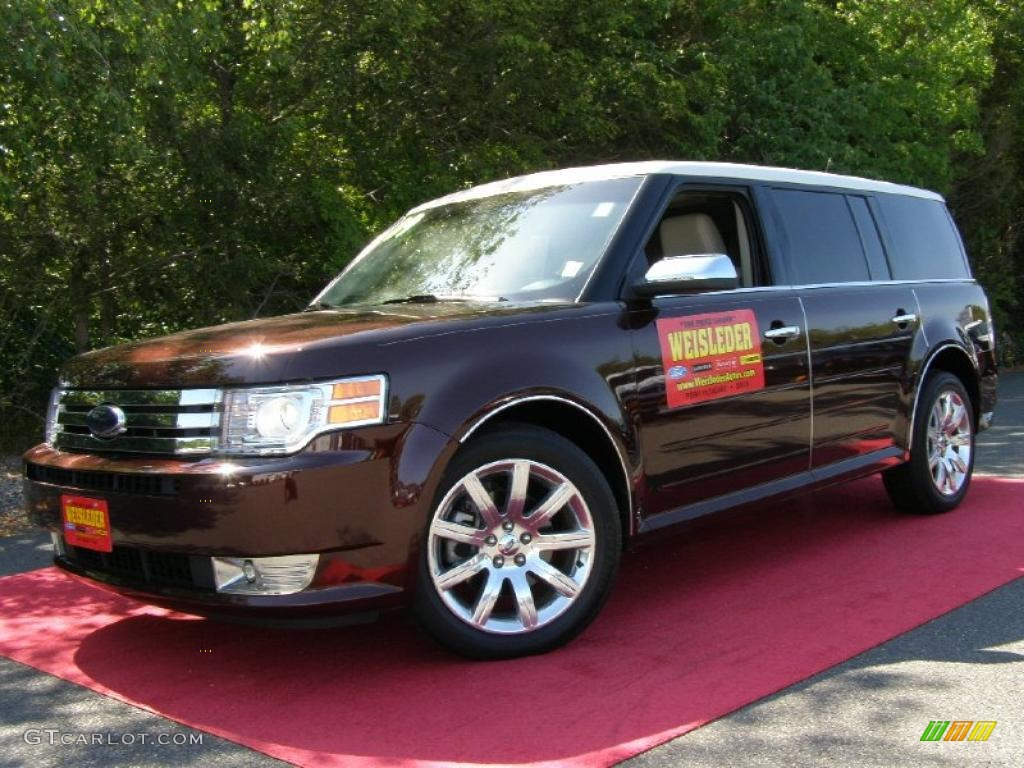 2009 cinnamon metallic ford flex limited awd 30036480. Black Bedroom Furniture Sets. Home Design Ideas