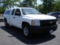 Summit White - Silverado 1500 Work Truck Extended Cab 4x4 Photo No. 3