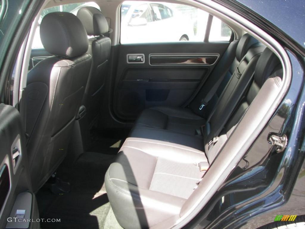 2008 MKZ AWD Sedan - Black / Dark Charcoal photo #6