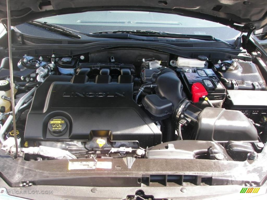 2008 MKZ AWD Sedan - Black / Dark Charcoal photo #8