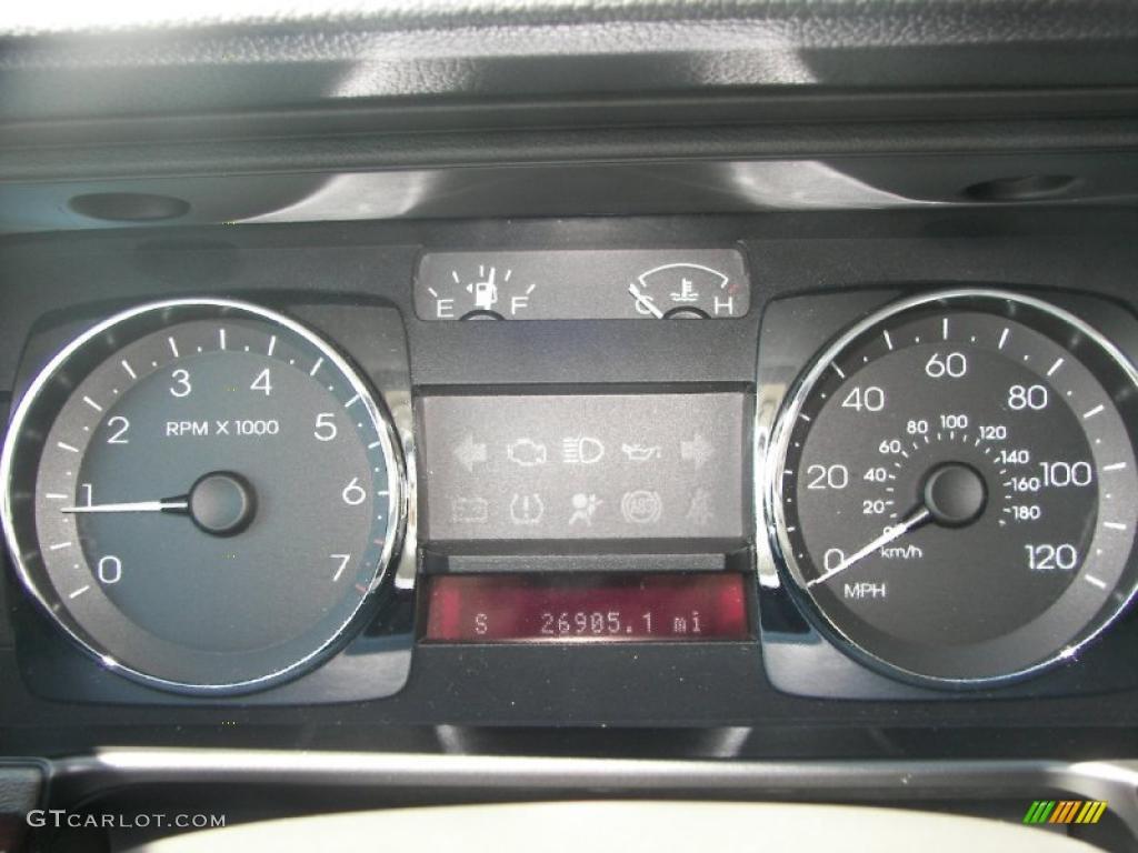 2008 MKZ AWD Sedan - Black / Dark Charcoal photo #14