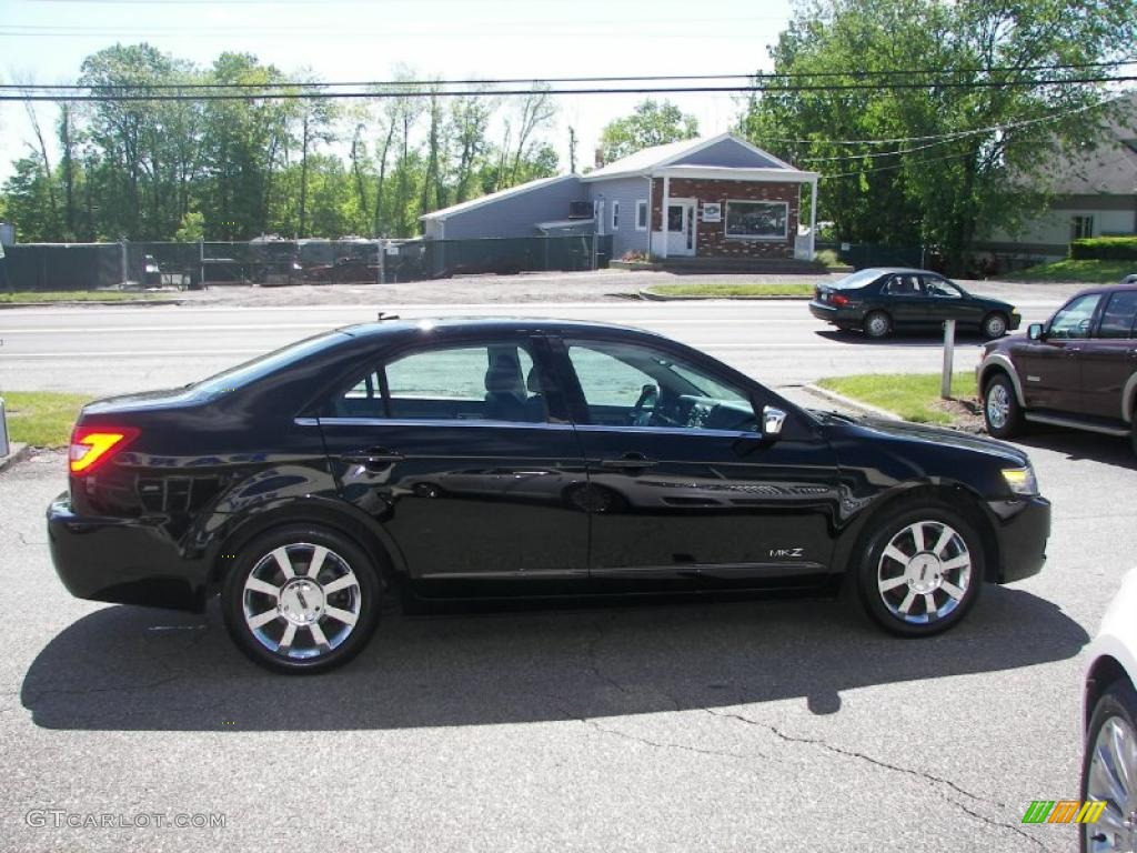 2008 MKZ AWD Sedan - Black / Dark Charcoal photo #21