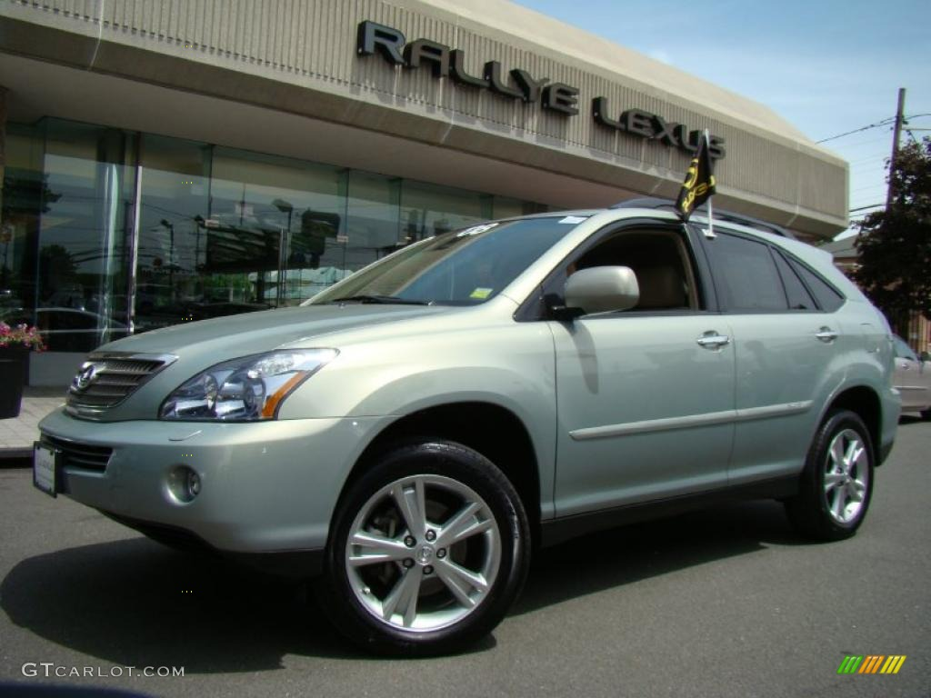 2008 bamboo pearl lexus rx 400h awd hybrid 30037464. Black Bedroom Furniture Sets. Home Design Ideas