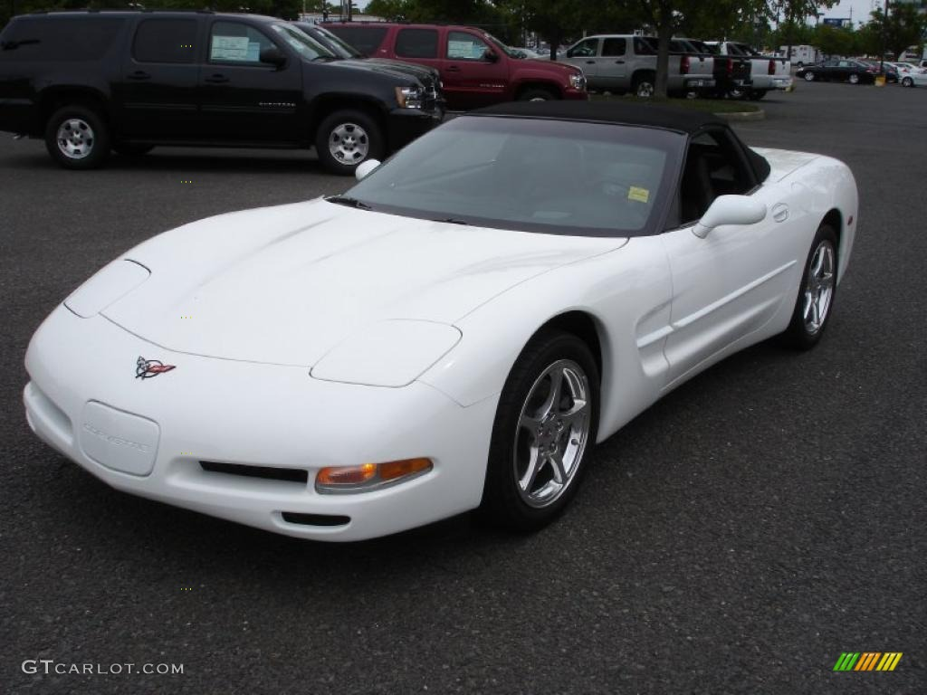 2004 Arctic White Chevrolet Corvette Convertible #30037194 ...