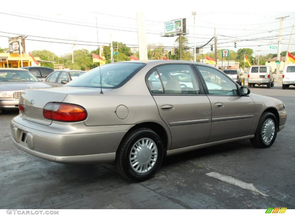 2000 Malibu Sedan Sandrift Metallic Neutral Photo 7