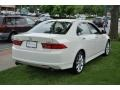 2008 Premium White Pearl Acura TSX Sedan  photo #5
