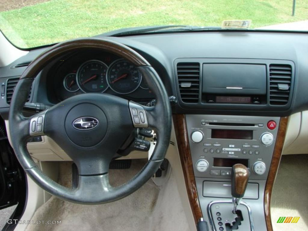 2007 obsidian black pearl subaru outback 3 0r l l bean. Black Bedroom Furniture Sets. Home Design Ideas