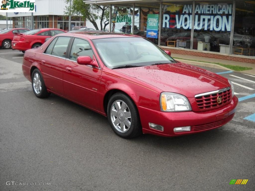 2004 Crimson Red Pearl Cadillac Deville Dts 30158177 Car Color Galleries