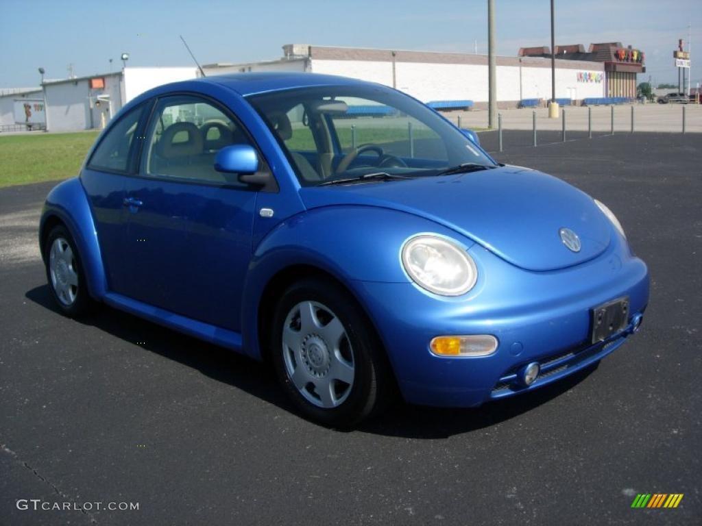 2000 techno blue metallic volkswagen new beetle glx 1 8t. Black Bedroom Furniture Sets. Home Design Ideas