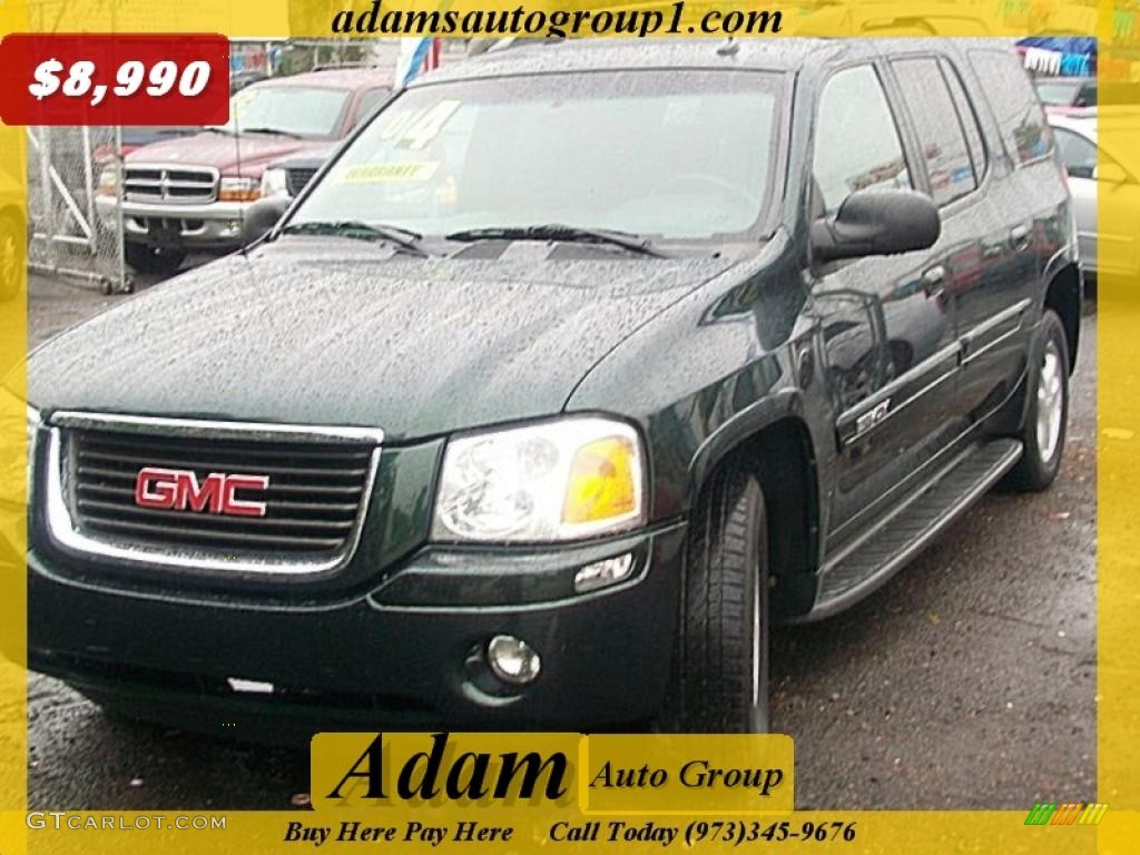 2004 polo green metallic gmc envoy xl sle 4x4 30158283. Black Bedroom Furniture Sets. Home Design Ideas
