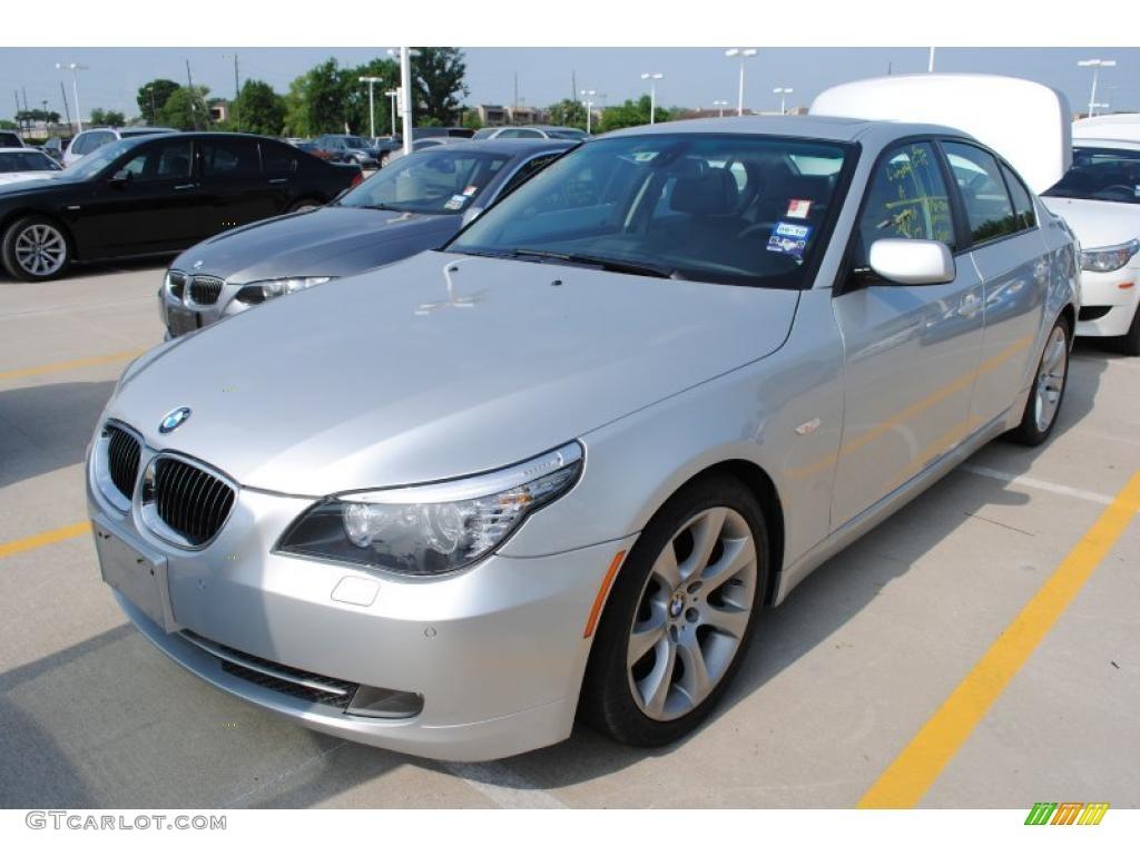 Titanium Silver Metallic BMW 5 Series