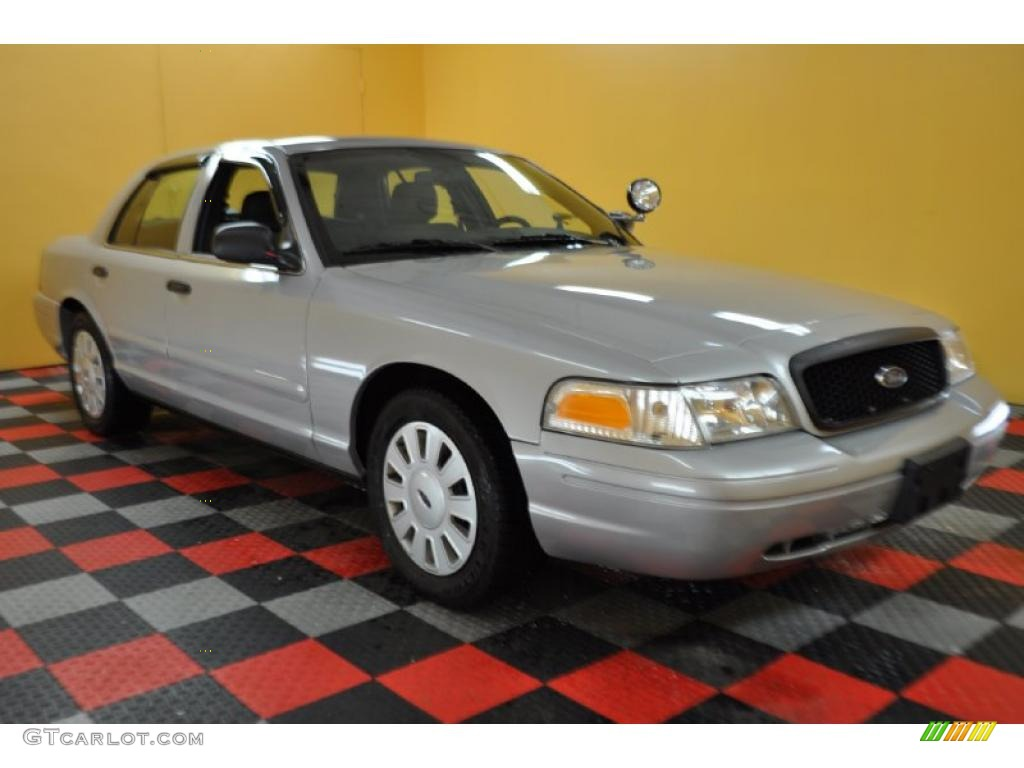 Silver grey metallic ford crown victoria