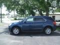 2010 Navy Blue Metallic Chevrolet Equinox LT  photo #3
