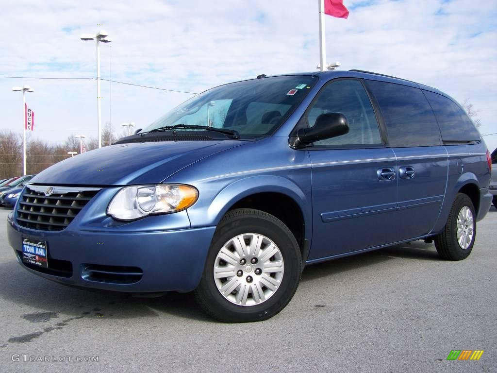 2007 marine blue pearl chrysler town country lx 2974334. Black Bedroom Furniture Sets. Home Design Ideas