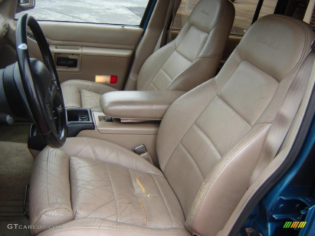 1994 Cayman Green Metallic Ford Explorer Eddie Bauer 4x4