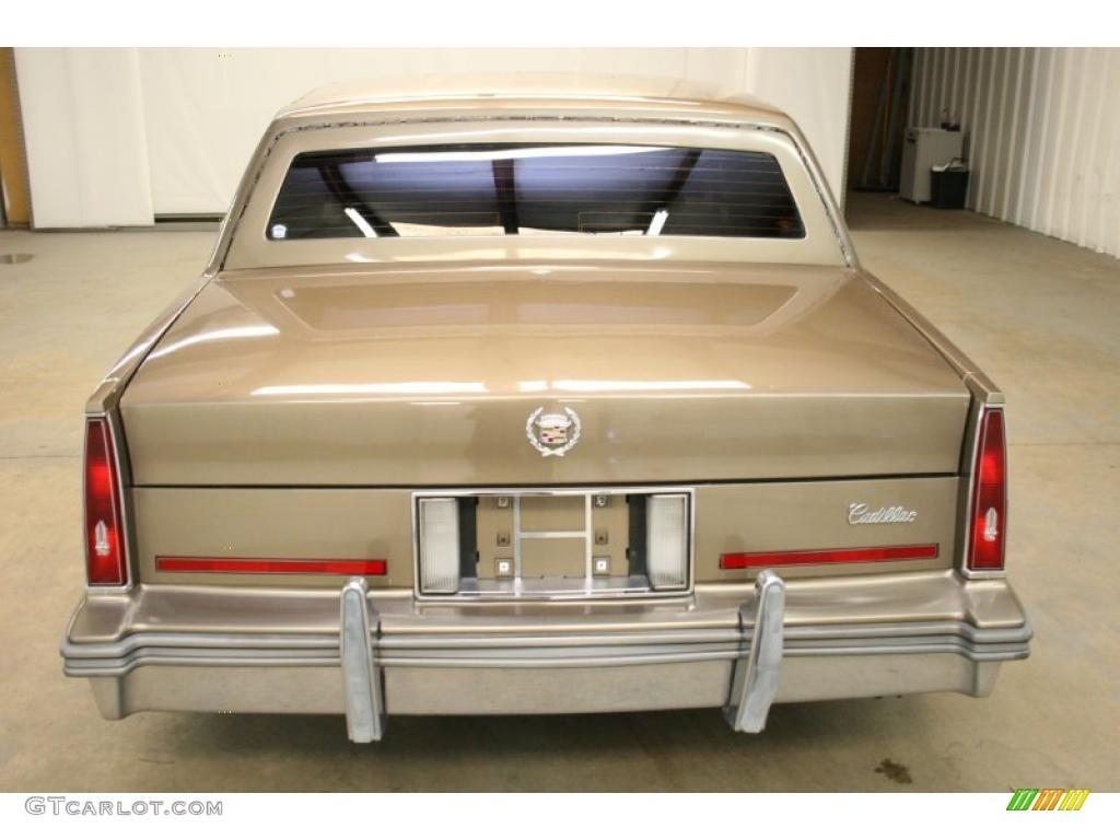 1986 Cadillac Sedan Deville Interior