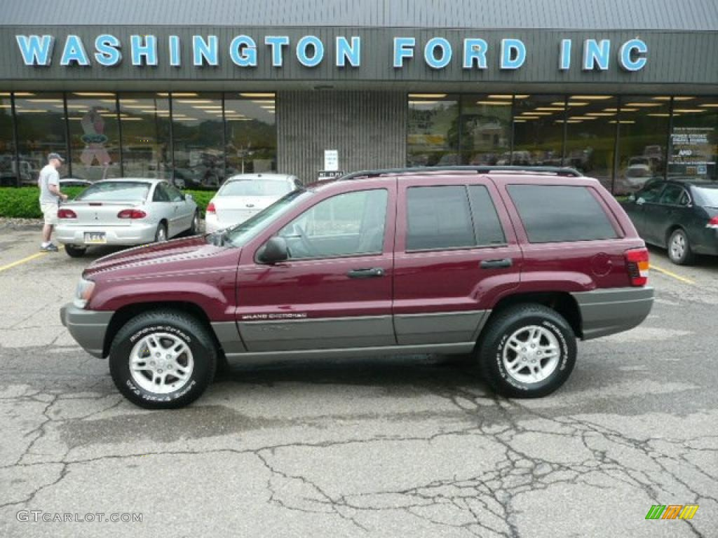2002 jeep grand cherokee laredo 4x4 dark garnet red pearlcoat color. Cars Review. Best American Auto & Cars Review