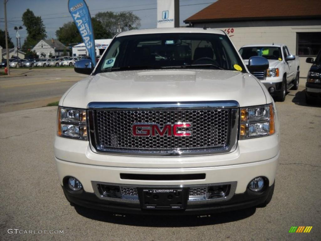 2010 white diamond tricoat gmc sierra 1500 denali crew cab awd 30214476 photo 4. Black Bedroom Furniture Sets. Home Design Ideas