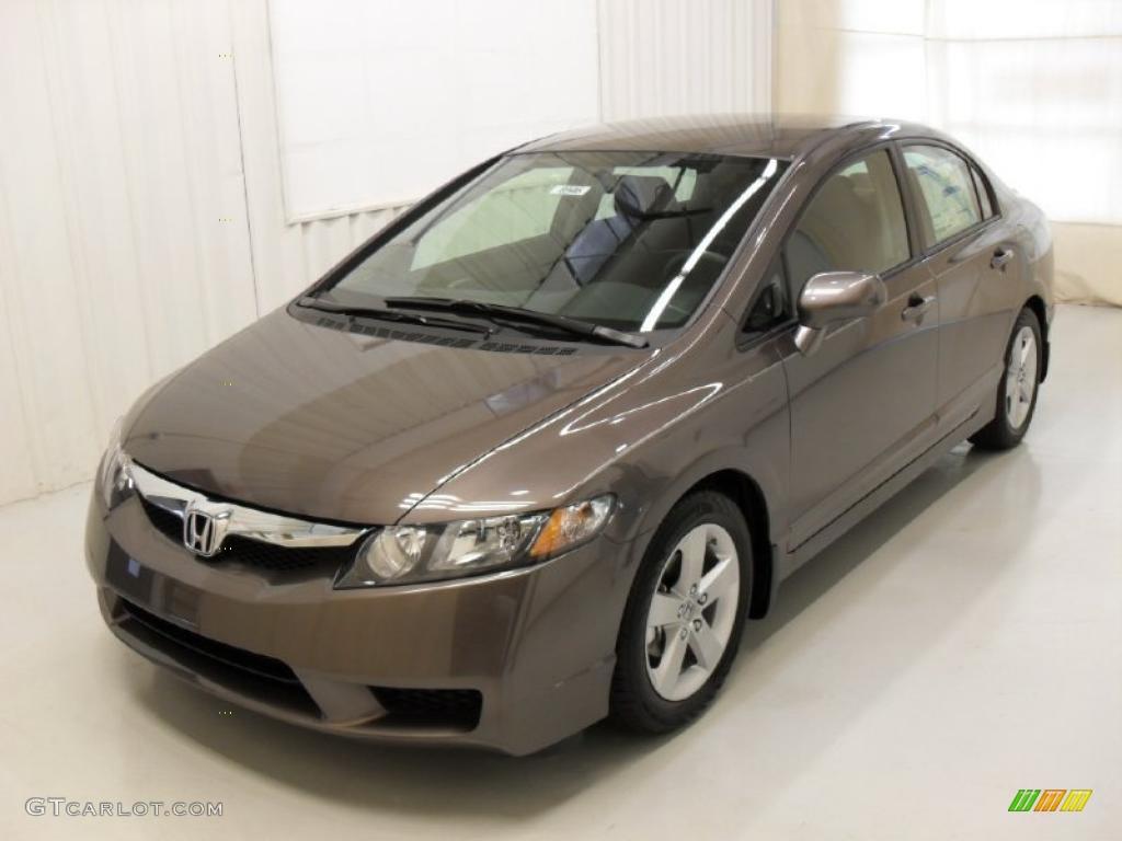 2010 Urban Titanium Metallic Honda Civic Lx S Sedan