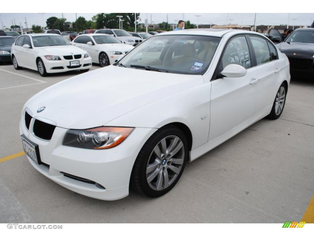 Alpine White BMW 3 Series