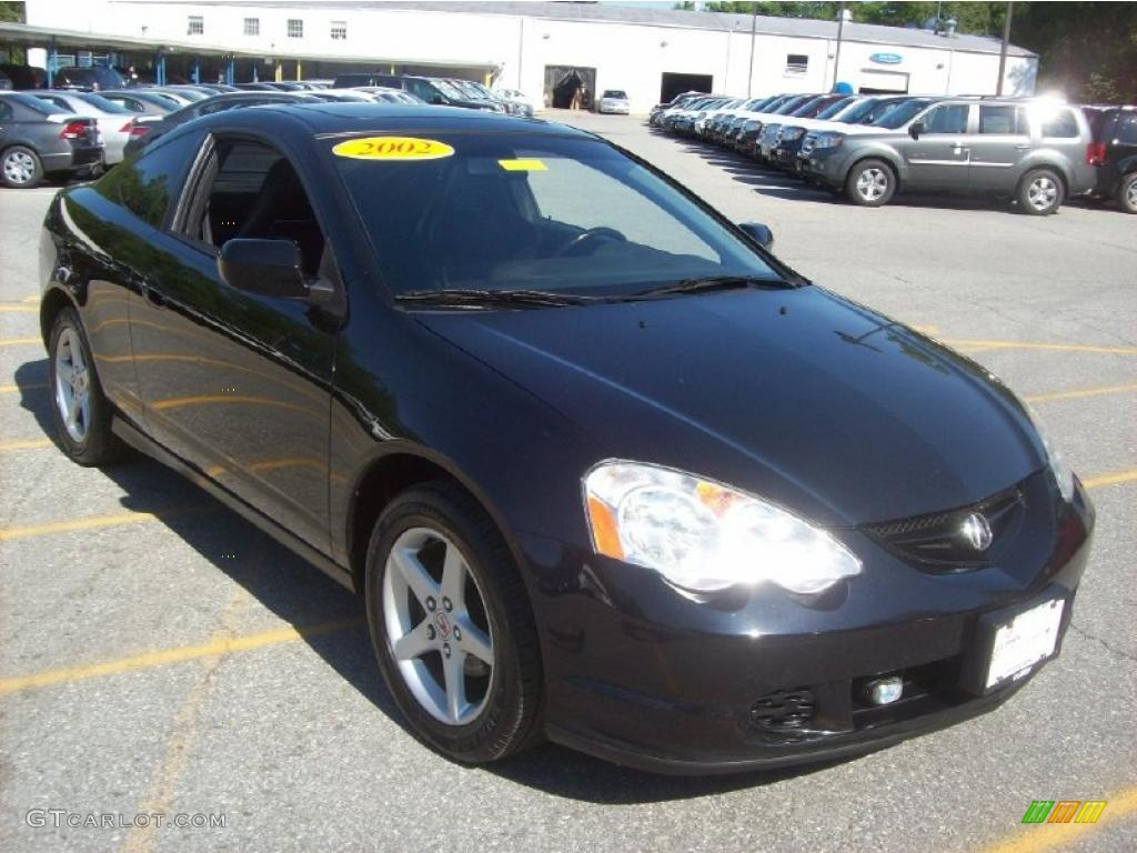 2002 Nighthawk Black Pearl Acura RSX Sports Coupe ...