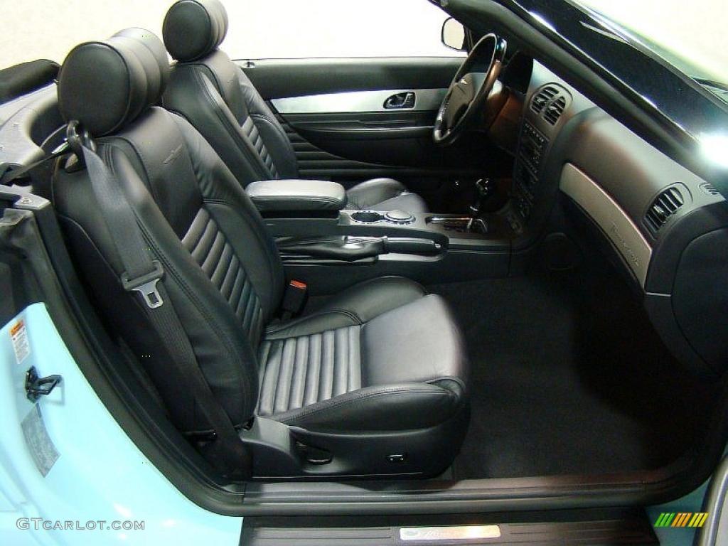 2003 ford thunderbird premium roadster interior photos gtcarlot com - 2003 Thunderbird Premium Roadster Desert Sky Blue Black Ink Photo 12