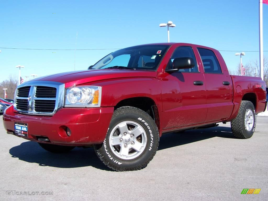 Inferno red crystal pearl dodge dakota