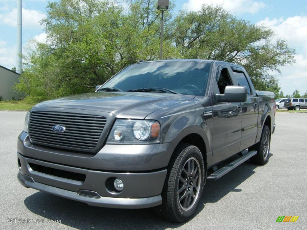 2008 dark shadow grey metallic ford f150 fx2 sport supercrew 30330545 photo 15. Black Bedroom Furniture Sets. Home Design Ideas