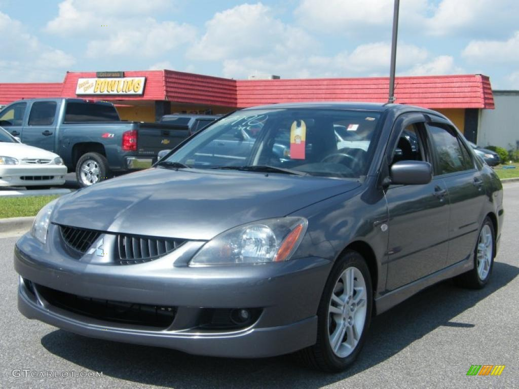 2005 Graphite Grey Pearl Mitsubishi Lancer RALLIART 30330546