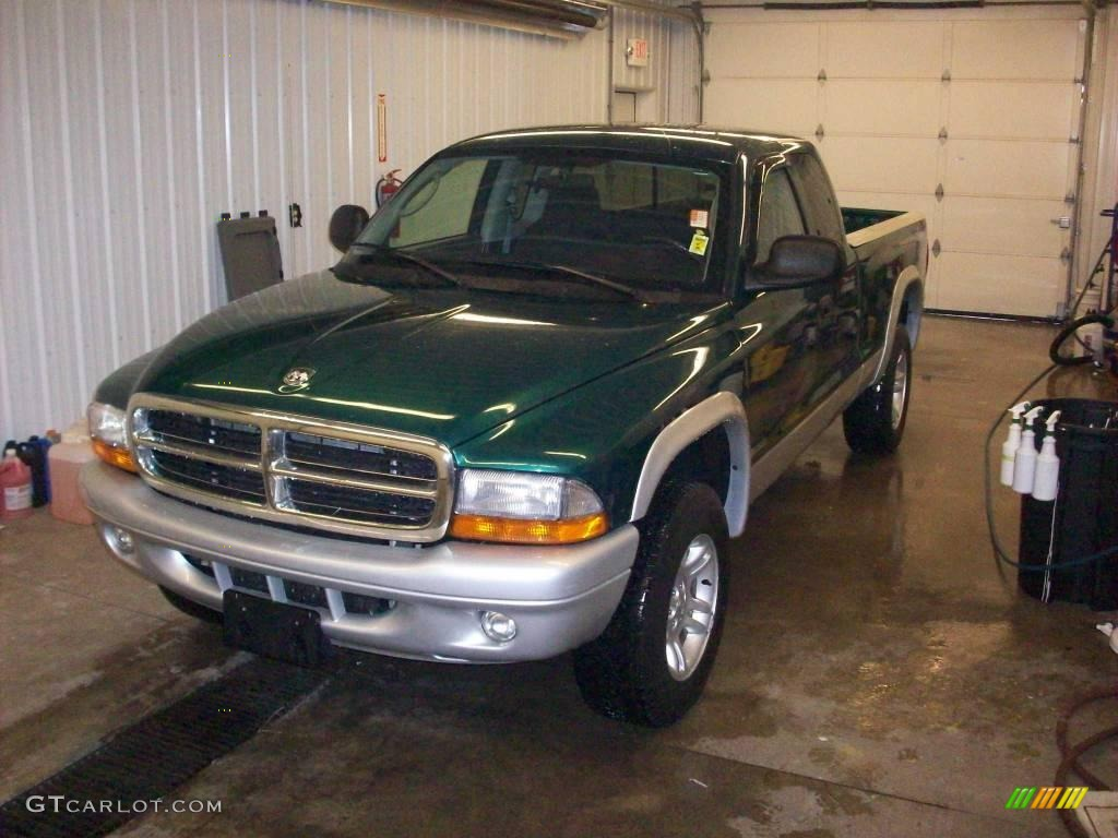 Timberline Green Pearl Dodge Dakota