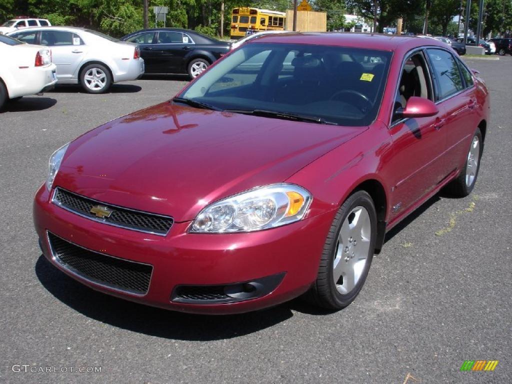 2006 Sport Red Metallic Chevrolet Impala Ss 30330407