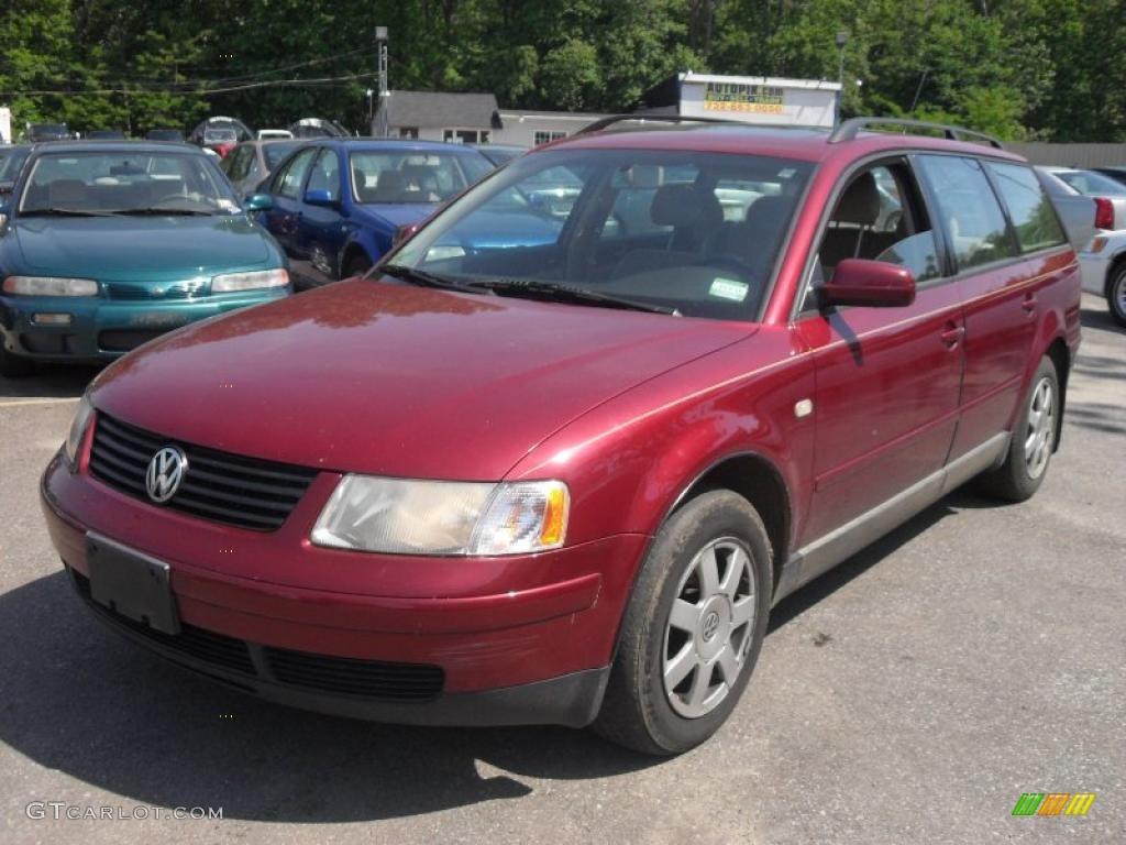 2000 Volkswagen Passat Interior 2000 Colorado Red