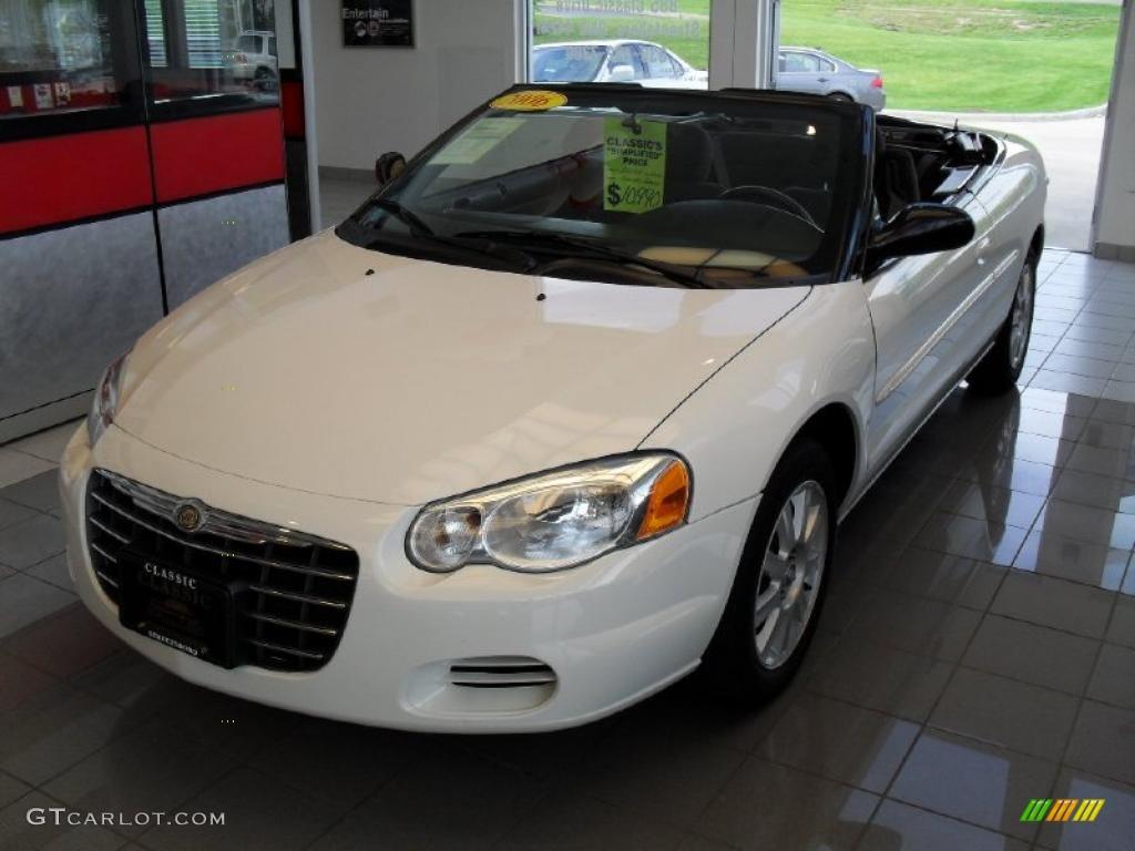 Stone White - 2006 Chrysler Sebring Limited Convertible - Light ...