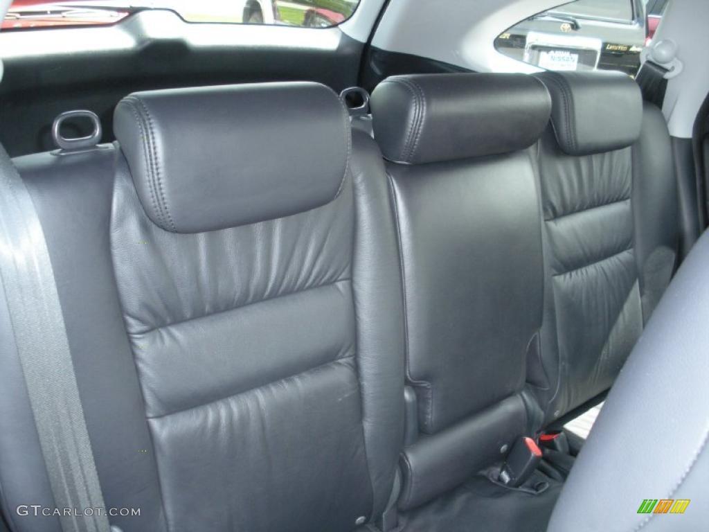 2008 CR-V EX-L 4WD - Royal Blue Pearl / Black photo #19