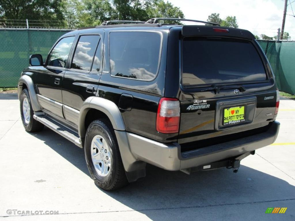2000 black toyota 4runner limited 30367623 photo 5 car color galleries. Black Bedroom Furniture Sets. Home Design Ideas